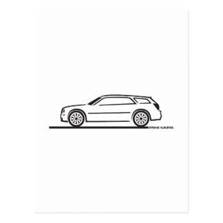 Chrysler 300 Station Wagon Postcard