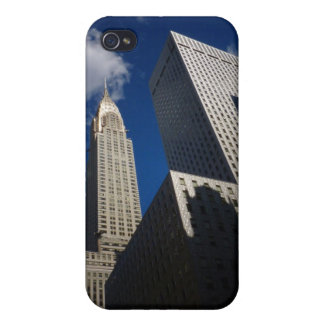Chrysler Building and Socony Mobil Building NYC Cover For iPhone 4