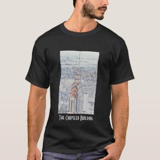 Chrysler Building Black T-Shirt