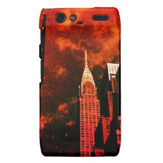Chrysler Building - Distant Past - New York City Droid RAZR Cases