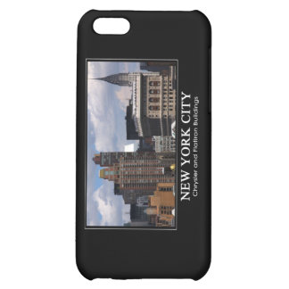 Chrysler Building, Flatiron with clouds 2C iPhone 5C Case