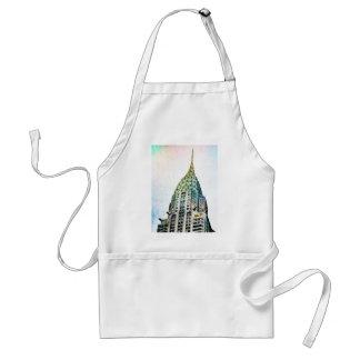 Chrysler Building - Frozen - New York City Standard Apron