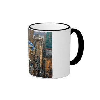 Chrysler Building Gargoyle Ringer Mug
