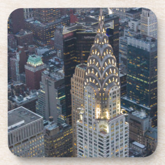 Chrysler Building New York City Aerial Skyline NYC Coaster