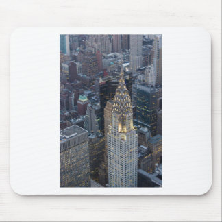 Chrysler Building New York City Aerial Skyline NYC Mouse Pad