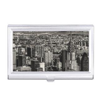 Chrysler Building New York City Skyline Landscape Case For Business Cards