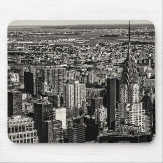 Chrysler Building New York City Skyline Landscape Mouse Pad