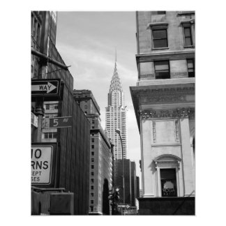 Chrysler Building PHOTO PRINT B&W