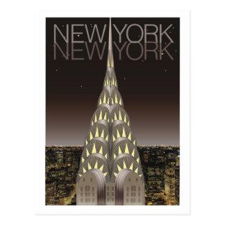 Chrysler Building Post Card