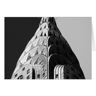 Chrysler Building Spire Card