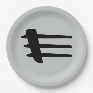 Chrysler Crossfire Side Strake Paper Plates 9 Inch Paper Plate