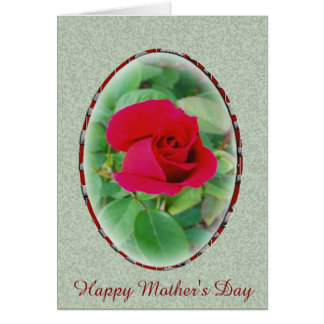 Chrysler Imperial Rose Mother's Day Card
