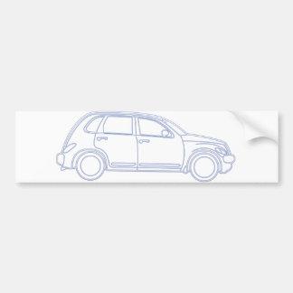 Chrysler PT Cruiser Bumper Sticker
