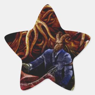 Chthulhu Domine Star Sticker