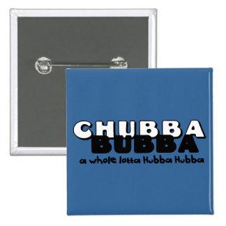 Chubba Bubba 15 Cm Square Badge