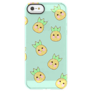 Chubbi Pineapple Pattern (textless) Permafrost® iPhone SE/5/5s Case