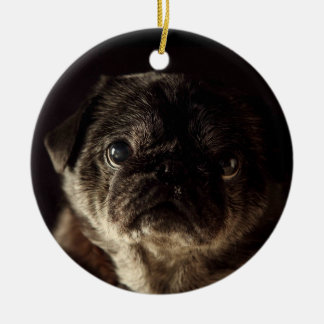 Chubbs The Wampug Black on Black Ornament