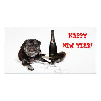 Chubbs The Wampug Happy New Year Photo Card