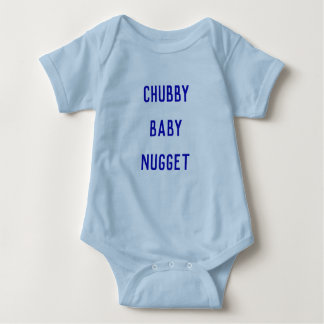 Chubby Baby Nugget Baby Bodysuit