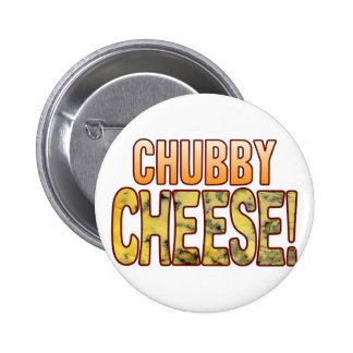 Chubby Blue Cheese 6 Cm Round Badge