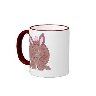 Chubby Bunny Ringer Mug