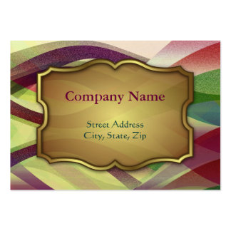 Chubby Business Card Abstract background