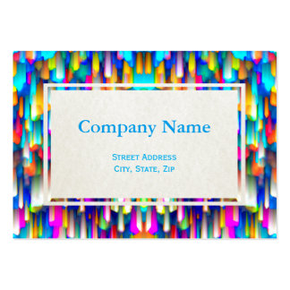 Chubby Business Card Colorful digitalart splashing