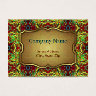 Chubby Business Card Psychedelic Visions