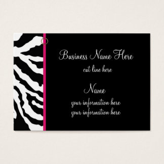 Chubby Business Card Template **Bold