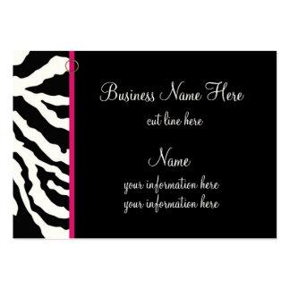 Chubby Business Card Template Bold