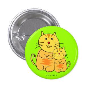 Chubby Cat Button