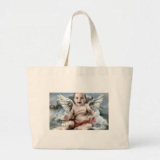 Chubby Cherub Tote Bags