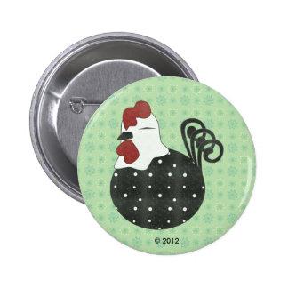 Chubby Chicken 6 Cm Round Badge