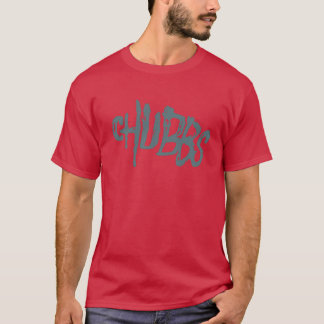Chubby Creepy Text T-Shirt