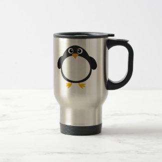Chubby Penguin (customizable) Stainless Steel Travel Mug