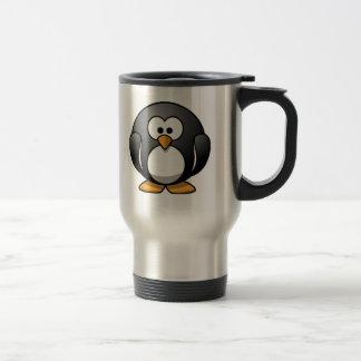 Chubby Penguin Stainless Steel Travel Mug