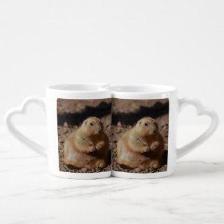 Chubby Prairie Dog Lovers Mugs