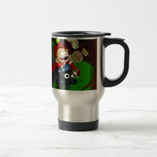 Chubby Red Riding Hood Stainless Steel Travel Mug