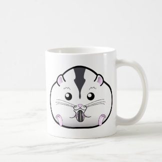 Chubby Semi White Russian Dwarf Hamster Coffee Mug