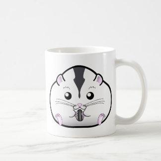 Chubby Semi White Russian Dwarf Hamster Basic White Mug