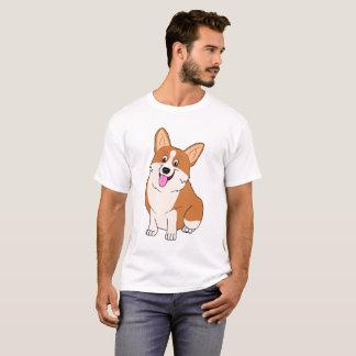 Chubby Smiling Welsh Corgi T-Shirt