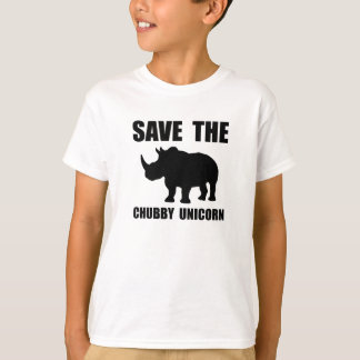 Chubby Unicorn Rhino T-Shirt