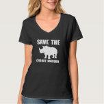 Chubby Unicorn Rhino Tee Shirts