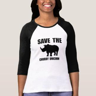 Chubby Unicorn Rhino Tshirts
