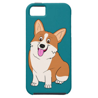 Chubby Welsh Corgi Cartoon Case For The iPhone 5