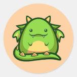Chubs Dragon Sticker