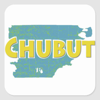 Chubut Square Sticker