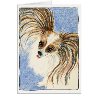 Chuckles, A Papillion Card