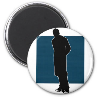 Chucks and a Trenchcoat Part One 6 Cm Round Magnet