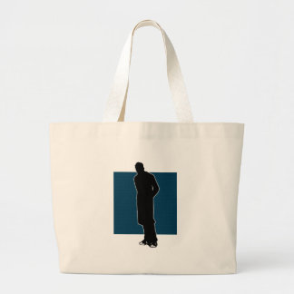 Chucks and a Trenchcoat Part One Large Tote Bag